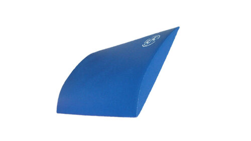 Skin-med Ligkussen blauw: een rugkussen voor het liggen
