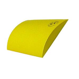 Skin-med Combikussen - geel. Zorgt voor juiste houding