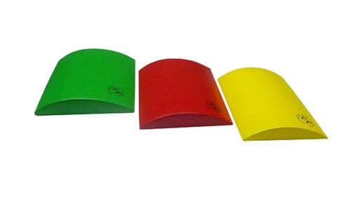 De 3 Skin-med Combikusssens: groen, rood en geel