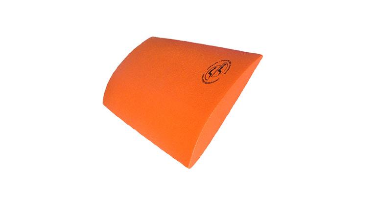 Skin-med Ligkussen-oranje. Rugkussen om op te liggen